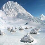 zoutsneeuw Royaltyfria Foton