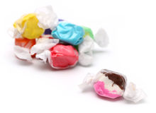 Zoutwater Taffy stock afbeelding