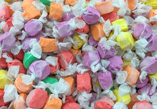 Zoutwater Taffy Candy Background royalty-vrije stock foto's