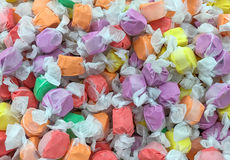 Zoutwater Taffy Candy Background stock foto's