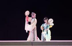 """Zowel meester als bediende-verslag van Zuidelijke boeg-Jiangxi opera""""four dromen van linchuan† Stock Fotografie"""