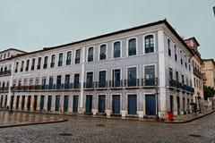 zrób fasadowej Luis maranhao historycznej sao płytce Obraz Royalty Free
