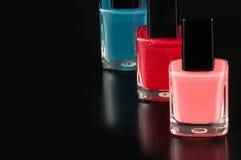 zrób sobie paznokcia polskich produktów Zdjęcie Stock