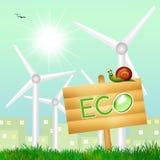 zrównoważona energia Zdjęcia Stock