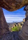 Zrównoważona skała Zdjęcie Stock