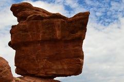 Zrównoważona skała - ogród bóg Fotografia Royalty Free