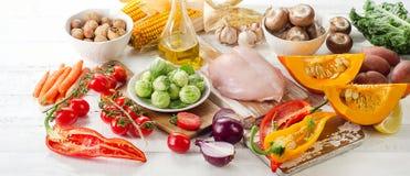 Zrównoważony diety pojęcie zdjęcie stock