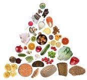 Zrównoważony diety pojęcie ilustracja wektor