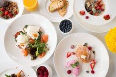 Zrównoważony zdrowotny obiadowy zdrowy łasowanie zdjęcie royalty free
