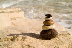 Zrównoważeni kamienie Obraz Stock