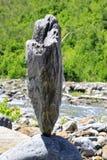 zrównoważeni kamienie Obrazy Royalty Free