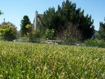 zraszaczy trawnika fotografia royalty free