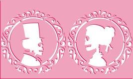 Zredukowana miłość matrycuje ilustracja wektor