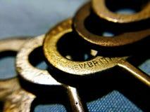 Zredukowani klucze obraz royalty free