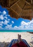 zrelaksować na plaży zdjęcia royalty free