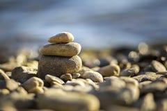 zrelaksować na plaży fotografia stock