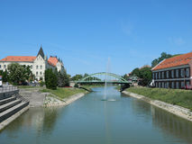 Zrenjanin lake Stock Photos