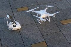 DJI Phantom 4 Pro drone Royalty Free Stock Photos