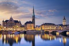 Zürich. Stock Afbeeldingen