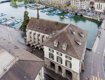Zürich die Schweiz Stockfotografie