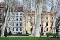 Zrinjevac Park in Zagreb, Croatia Stock Images