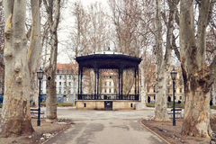 Zrinjevac park, Zagreb, Croatia Royalty Free Stock Photos