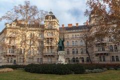 Zrinyi Miklos monument, Budapest Royalty Free Stock Images