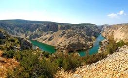 Canyon river royalty free stock photo