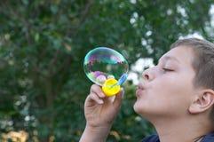 zrobić bubble Zdjęcie Royalty Free