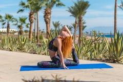 zrobić z jogi Fotografia Royalty Free