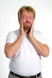zrozpaczony mężczyzna Zdjęcia Stock