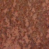 Zrudziała metal powierzchni tekstura, stary wietrzejący rdzewiejący korodujący pobrudzony kruszcowy talerz, ośniedziała textured  Obrazy Royalty Free