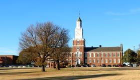 Zrudziała szkoła wyższa w Uświęconych wiosnach, Mississippi Fotografia Stock