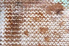 Zrudziałe tekstury Zdjęcie Stock