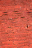 Zrudziały czerwony brown obieranie farby drewna tło Obraz Royalty Free