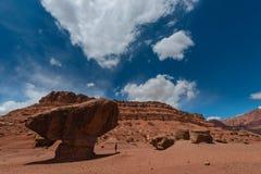 Zrównoważony Rockowy fusy promu Coconino okręg administracyjny Arizona Obraz Stock