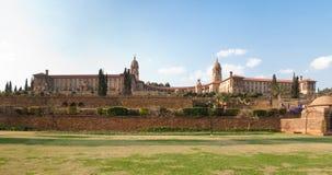 Zrzeszeniowa budynek panorama Obraz Royalty Free