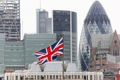 Zrzeszeniowa flaga Zdjęcia Royalty Free