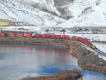 Zrzeszeniowa Pacyficzna linia kolejowa zdjęcia royalty free