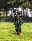 Zrzeszeniowego wojska Sharpshooter Amerykańska Cywilna wojna Zdjęcia Royalty Free