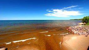 Zrzeszeniowy rzeki i jeziora przełożony zbiory wideo