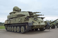 ZSU-23-4 Shilka Royalty Free Stock Photos