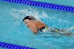 Zsuzsanna JAKABOS HUN. Hong Kong, China - Oct 29, 2016.  Zsuzsanna JAKABOS HUN swimming in the Women`s Freestyle 800m Final. FINA Swimming World Cup, Victoria Royalty Free Stock Image