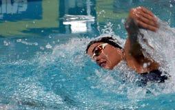 Zsuzsanna JAKABOS HUN. Hong Kong, China - Oct 29, 2016.  Zsuzsanna JAKABOS HUN swimming in the Women`s Freestyle 800m Final. FINA Swimming World Cup, Victoria Royalty Free Stock Photos