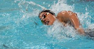 Zsuzsanna JAKABOS HUN. Hong Kong, China - Oct 29, 2016.  Zsuzsanna JAKABOS HUN swimming in the Women`s Freestyle 800m Final. FINA Swimming World Cup, Victoria Stock Photography