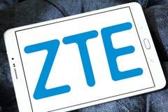 ZTE Korporation logo Fotografering för Bildbyråer