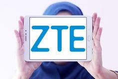 ZTE Korporation logo Royaltyfri Fotografi