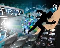 Zu ausbrechen vom Netz Lizenzfreies Stockfoto
