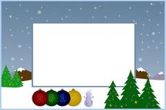 Zu beglückwünschen Weihnachtspostkarte lizenzfreie stockbilder