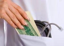 Zu behandeln Bestechungsgeld Lizenzfreies Stockfoto
